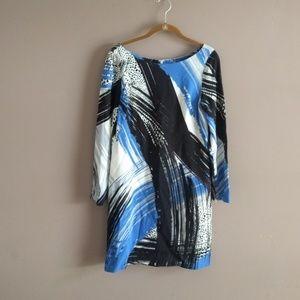 Milly brushstroke dress sz 4
